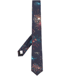 Valentino Garavani Fireworks Printed Tie