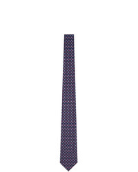 Salvatore Ferragamo Navy Objects Neck Tie