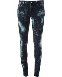 Ralph lauren denim supply bleached skinny jeans medium 35818