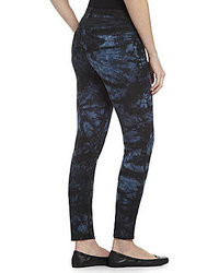 Vince Camuto Two By Floral Tie Dye Skinny Jeans