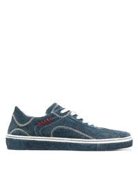 Etro Contrast Stitch Sneakers