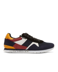 Ps By Paul Smith Navy Suede Vinny Sneakers