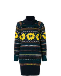 Sacai Open Back Roll Neck Sweater