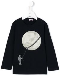 Il Gufo Moon Print Sweatshirt