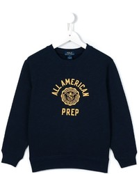 Ralph Lauren Kids All American Prep Print Sweatshirt