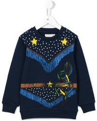 Stella McCartney Kids Betty Cowboy Print Sweatshirt