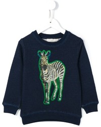 Stella McCartney Kids Betty Zebra Print Sweatshirt