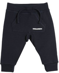 DSQUARED2 Logo Printed Cotton Jogging Pants