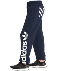 adidas Logo Printed Cotton Sweatpants