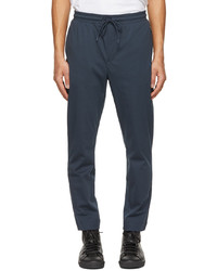 BOSS Navy Hwoven Lounge Pants