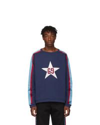Gucci Blue G Patch Sweatshirt
