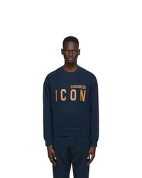 DSQUARED2 Navy Icon Sweatshirt