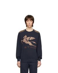 Etro Navy Neutra Sweatshirt