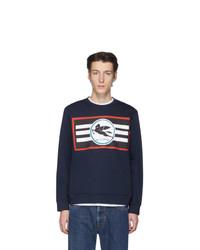 Etro Navy Pegaso Sweatshirt