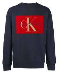 Calvin Klein Jeans Printed Logo Sweatshirt