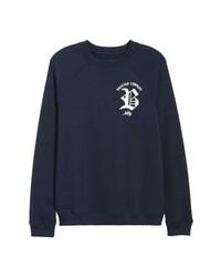 Brixton Rawson Raglan Crewneck Sweatshirt