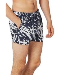 Topman Banana Leaf Swim Trunks