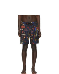 Saturdays Nyc Black Timothy Swim Shorts