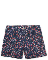Vilebrequin Merise Mid Length Turtle Print Swim Shorts