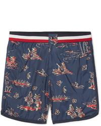 Moncler Mid Length Printed Swim Shorts