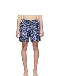 Tiger of Sweden Navy And Blue Usper Swim Shorts