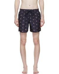 Etro Navy Pegaso Swim Shorts