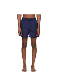 Polo Ralph Lauren Navy Traveler Swim Shorts