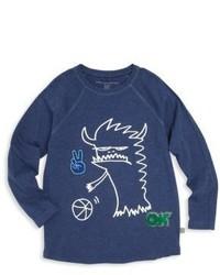 Stella McCartney Kids Toddlers Little Boys Boys Organic Cotton Monster Graphic T Shirt