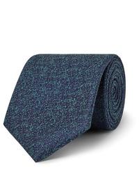 Charvet 75cm Silk And Wool Blend Tie