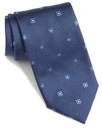 Geometric silk tie medium 709393