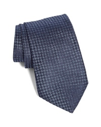 John Varvatos Star USA Houndstooth Silk Tie