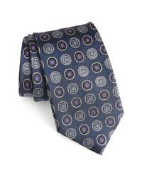 Nordstrom Men's Shop Medallion Silk X Long Tie