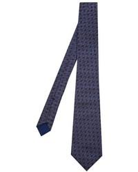 Bottega Veneta Polka Dot Print Silk Tie