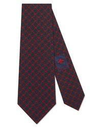 Gucci Spiral Gg Silk Tie