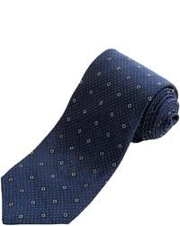 John Varvatos Star Usa Medallion Pindot Tie Silk