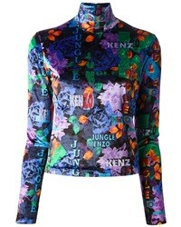 Kenzo Vintage Jungle Printed Sweater