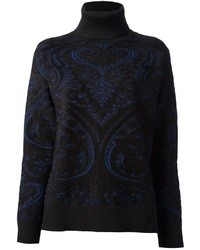 Roberto Cavalli Paisley Print Sweater