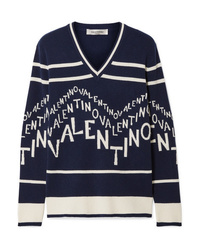 ba337dbcd93b5d Women's V-neck Sweaters by Valentino | Women's Fashion | Lookastic.com