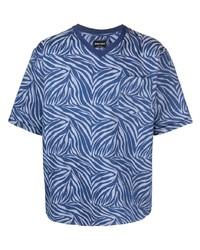 Giorgio Armani Zebra Print T Shirt