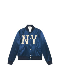 Gucci Jacket With Ny Yankees Patch