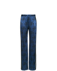 Lanvin Printed Flared Trousers