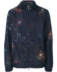 Fireworks print windbreaker medium 4345339