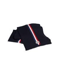 Moncler Stripe Wool Scarf