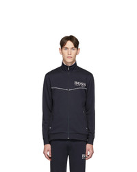 BOSS Navy Tracksuit Zip Up Jacket