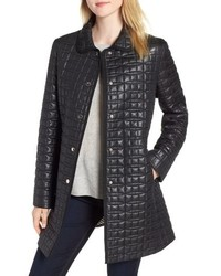 kate spade new york Bow Quilted Coat