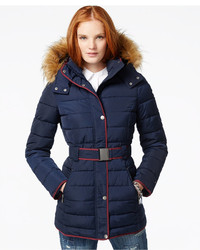 c6a7f24ae Women's Navy Puffer Coats by Tommy Hilfiger | Women's Fashion ...
