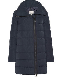 Moncler Lobelia Quilted Shell Down Coat Midnight Blue