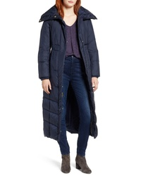 Cole Haan Long Down Feather Fill Coat