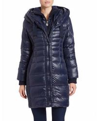 Tahari Paula Packable Puffer Coat