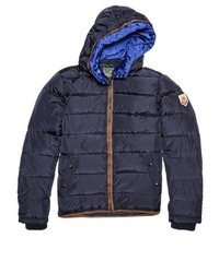 Scotch & Soda Quilted Nylon Puffer Jacket